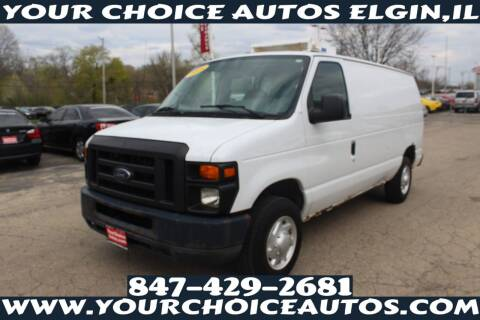 2008 Ford E-Series Cargo for sale at Your Choice Autos - Elgin in Elgin IL