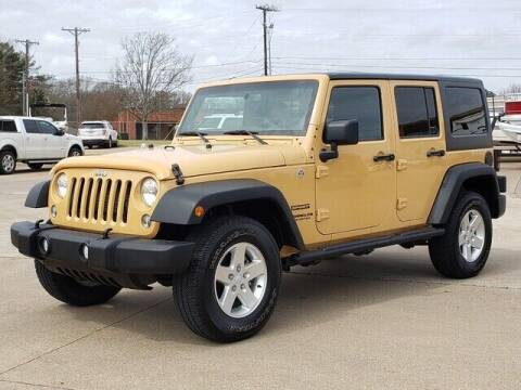 2014 Jeep Wrangler Unlimited for sale at Tyler Car  & Truck Center in Tyler TX