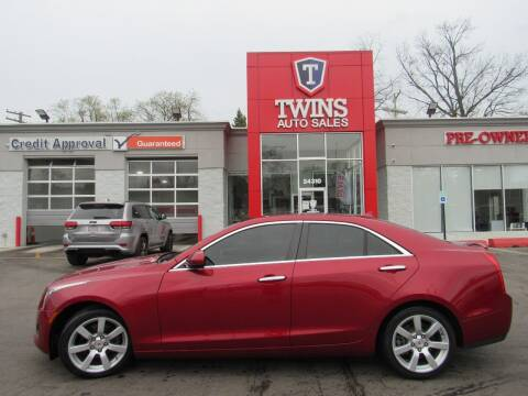 2014 Cadillac ATS for sale at Twins Auto Sales Inc - Detroit in Detroit MI
