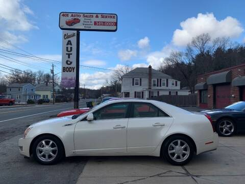 2008 Cadillac CTS for sale at 401 Auto Sales & Service in Smithfield RI