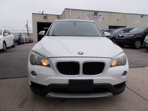2013 BMW X1 for sale at ACH AutoHaus in Dallas TX