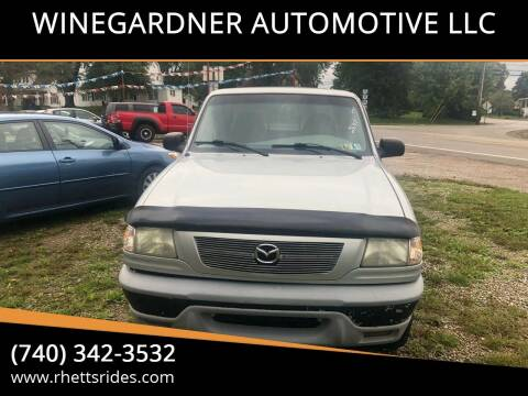 2002 Mazda Truck for sale at WINEGARDNER AUTOMOTIVE LLC in New Lexington OH