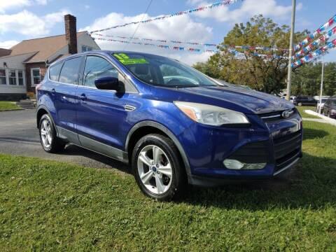 2013 Ford Escape for sale at ABC Auto Sales and Service in New Castle DE