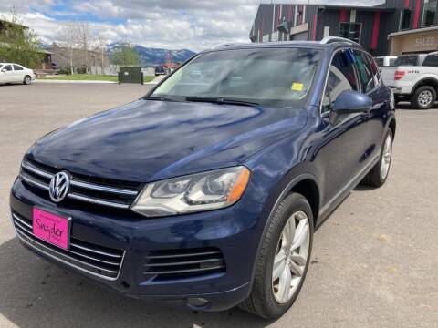 2014 Volkswagen Touareg for sale at Snyder Motors Inc in Bozeman MT