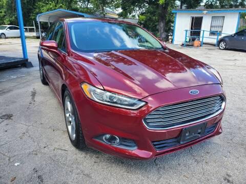 2013 Ford Fusion for sale at Tony's Auto Plex in San Antonio TX