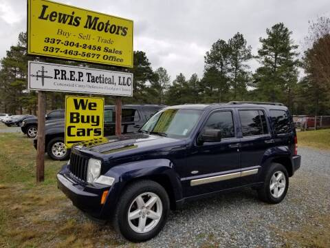 2012 Jeep Liberty for sale at Lewis Motors LLC in Deridder LA