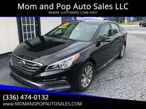 2017 Hyundai Sonata for sale at Mom and Pop Auto Sales LLC in Thomasville NC