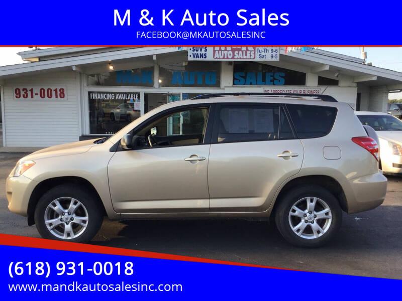 2011 Toyota RAV4 for sale at M & K Auto Sales in Granite City IL