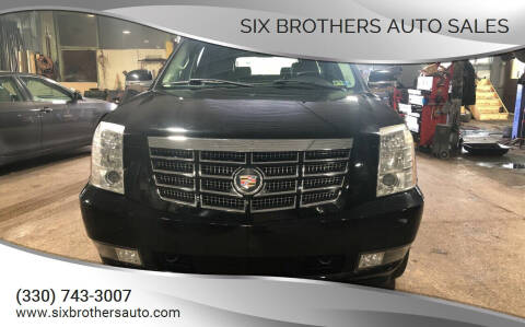 2007 Cadillac Escalade ESV for sale at Six Brothers Auto Sales in Youngstown OH