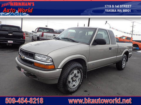 2000 Chevrolet S-10 for sale at Bruce Kirkham Auto World in Yakima WA