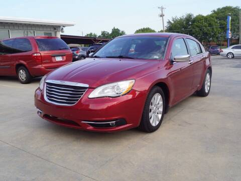 2013 Chrysler 200 for sale at Kansas Auto Sales in Wichita KS
