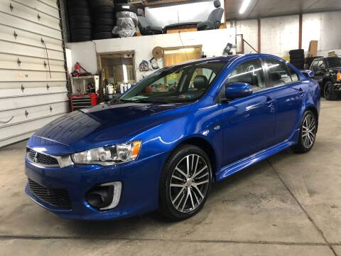 2017 Mitsubishi Lancer for sale at T James Motorsports in Gibsonia PA