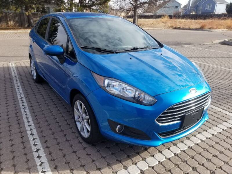 2017 Ford Fiesta for sale at Red Rock's Autos in Denver CO