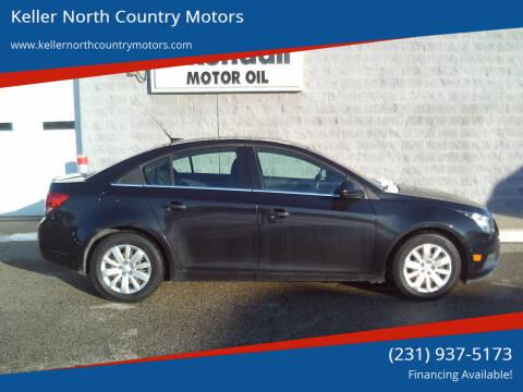 2011 Chevrolet Cruze for sale at Keller North Country Motors in Howard City MI