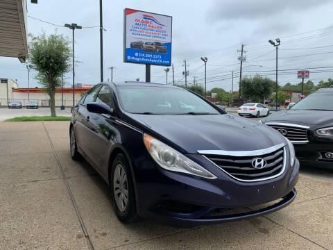 2013 Hyundai Sonata for sale at Magic Auto Sales - Cars for Cash in Dallas TX