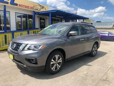 2017 Nissan Pathfinder for sale at Abel Motors, Inc. in Conroe TX