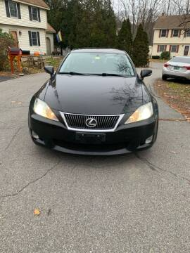 2009 Lexus IS 250 for sale at ALAN SCOTT AUTO REPAIR in Brattleboro VT