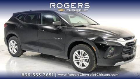 2021 Chevrolet Blazer for sale at ROGERS  AUTO  GROUP in Chicago IL