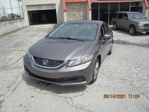 2014 Honda Civic for sale at Competition Auto Sales in Tulsa OK
