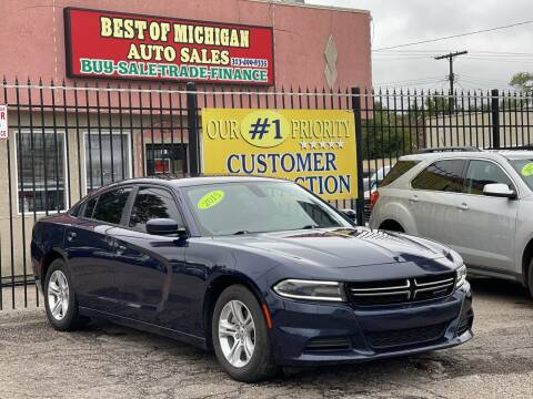 2015 Dodge Charger for sale at Best of Michigan Auto Sales in Detroit MI