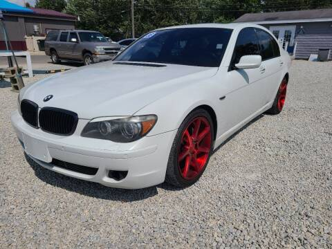 2008 BMW 7 Series for sale at Davidson Auto Deals in Syracuse IN