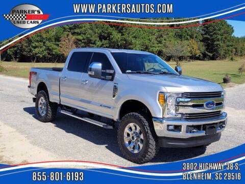 2017 Ford F-250 Super Duty for sale at Parker's Used Cars in Blenheim SC