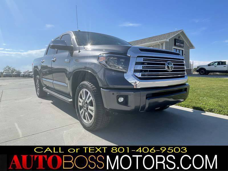 2018 Toyota Tundra for sale at Auto Boss in Woods Cross UT