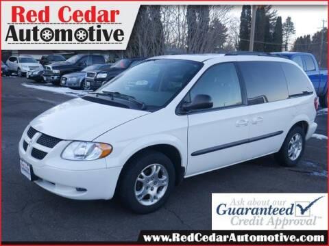 2004 Dodge Caravan for sale at Red Cedar Automotive in Menomonie WI