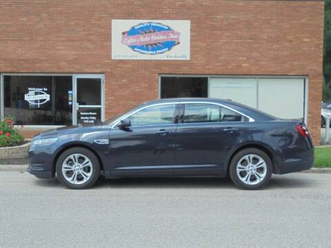 2017 Ford Taurus for sale at Eyler Auto Center Inc. in Rushville IL
