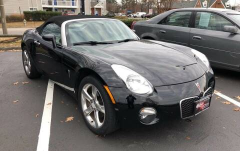 2006 Pontiac Solstice for sale at Mike's Auto Sales INC in Chesapeake VA