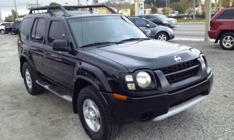 2002 Nissan Xterra for sale at Pinellas Auto Brokers in Saint Petersburg FL