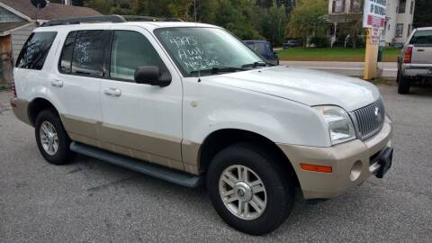 2005 Mercury Mountaineer for sale at Auto Brokers of Milford in Milford NH