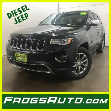 2014 Jeep Grand Cherokee for sale at Frogs Auto Sales in Clinton IA