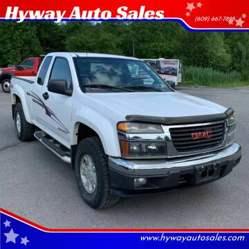 2004 GMC Canyon for sale at Hyway Auto Sales in Lumberton NJ