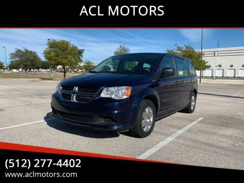 2012 Dodge Grand Caravan for sale at ACL MOTORS in Austin TX