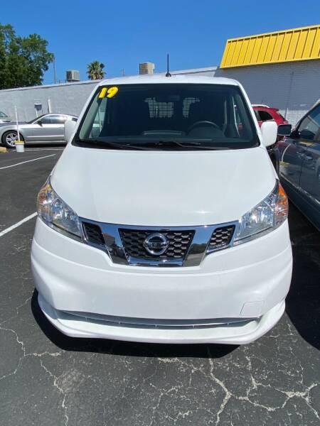 2019 Nissan NV200 for sale at DUNEDIN AUTO SALES INC in Dunedin FL