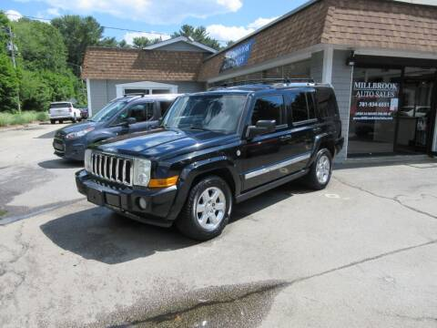 2006 Jeep Commander for sale at Millbrook Auto Sales in Duxbury MA