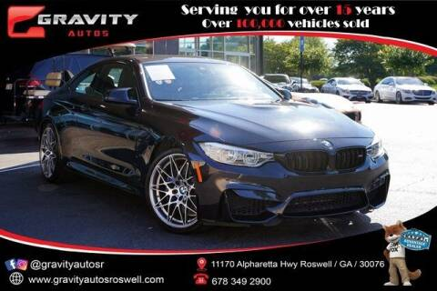 2017 BMW M4 for sale at Gravity Autos Roswell in Roswell GA