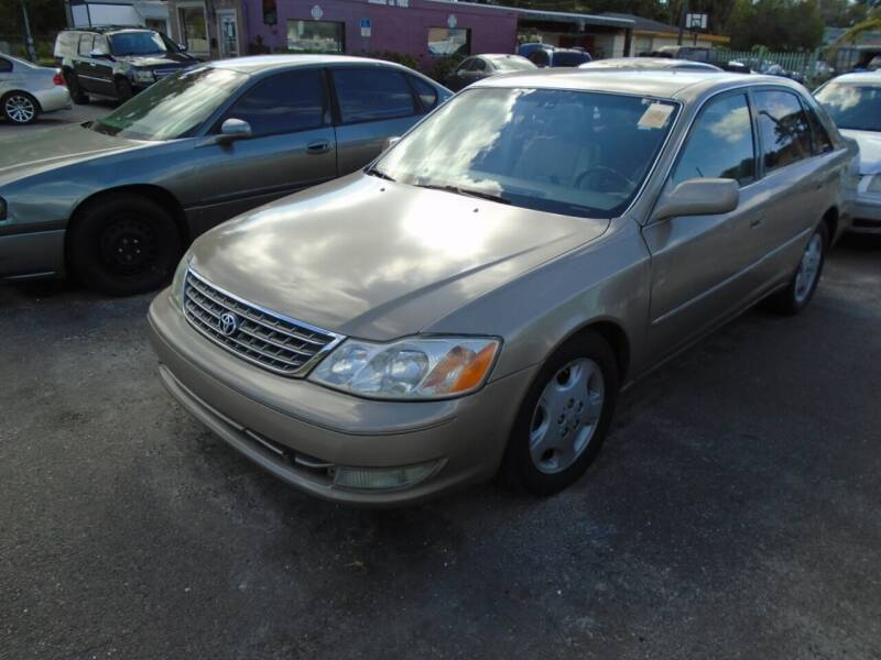 2003 Toyota Avalon for sale at Bargain Auto Mart Inc. in Kenneth City FL