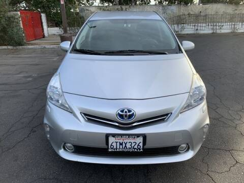 2012 Toyota Prius v for sale at Hunter's Auto Inc in North Hollywood CA