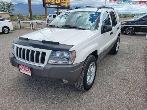 2004 Jeep Grand Cherokee for sale at Bickham Used Cars in Alamogordo NM