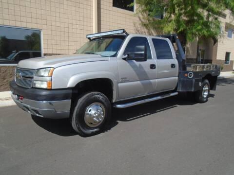2005 Chevrolet Silverado 3500 for sale at COPPER STATE MOTORSPORTS in Phoenix AZ