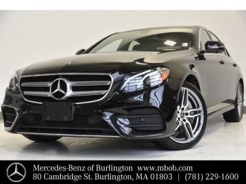 2019 Mercedes-Benz E-Class for sale at Mercedes Benz of Burlington in Burlington MA