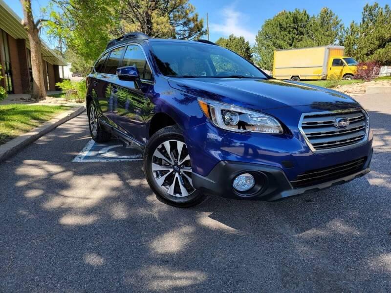 2017 Subaru Outback for sale at Summit Auto in Aurora CO