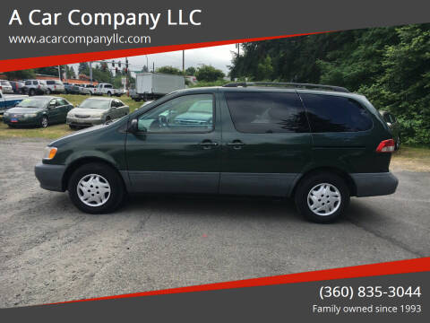 2002 Toyota Sienna for sale at A Car Company LLC in Washougal WA