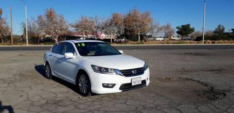 2013 Honda Accord for sale at Autosales Kingdom in Lancaster CA