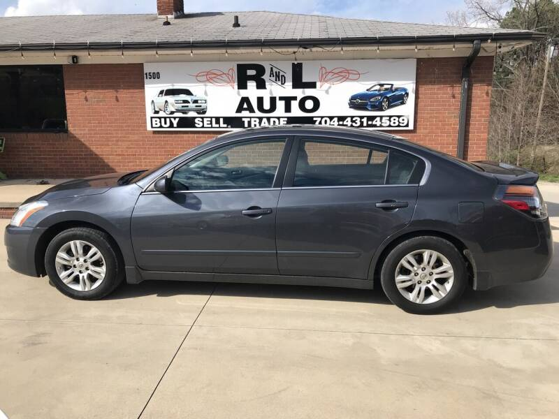 2012 Nissan Altima for sale at R & L Autos in Salisbury NC