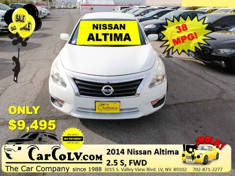 2014 Nissan Altima for sale at The Car Company in Las Vegas NV