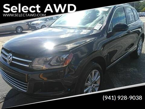 2014 Volkswagen Touareg for sale at Select AWD in Provo UT