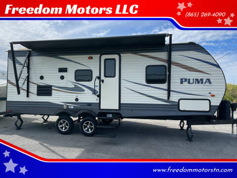 2017 Forest River Palomino Puma for sale at Freedom Motors LLC in Knoxville TN